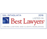 Best Lawyers 2016 – Sal Intagliata