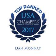 Top Ranked Chambers 2017 – Dan Monnat