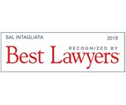 Best Lawyers 2018 – Sal Intagliata