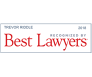 Best Lawyers 2018 – Trevor Riddle