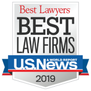 Best Law Firms – US News – 2019