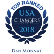 Top Ranked Chambers 2018 – Dan Monnat