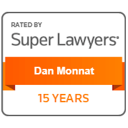 Super Lawyers – Dan Monnat – 15 Years