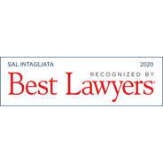 Best Lawyers – 2020 – Sal Intagliata