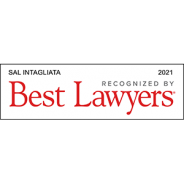 Best Lawyers – 2021 – Sal Intagliata