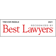 Best Lawyers – 2021 – Trevor Riddle