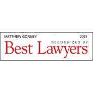 Best Lawyers – 2021 – Matthew Gorney