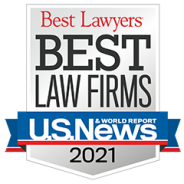 Best Law Firms – US News – 2021