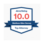 AVVO – 10.0 rating – Matthew Gorney